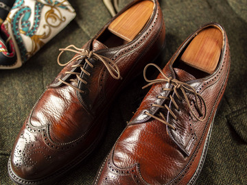 Selling with online payment: UNKNOWN BRAND Derby Full Brogue – Size 10 1/2 US