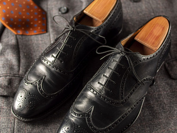 Selling with online payment: Shoes CHURCH'S Chetwynd – Leather – Size 10 UK / 11 US – Width F