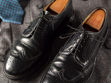 Selling with online payment: Shoes CHURCH'S Grafton – Leather – Size 11 UK / 12 US