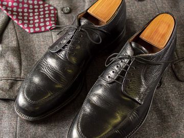 Selling with online payment: Shoes DACK'S – Prairie Oxhide Leather – Size 11 US – Black