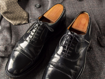 Selling with online payment: Shoes CHURCH'S Lancaster – Bookbinder leather – Size 7 ½ UK / 8 ½