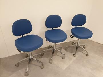 Nieuwe apparatuur: Drie Werkstoelen tandarts