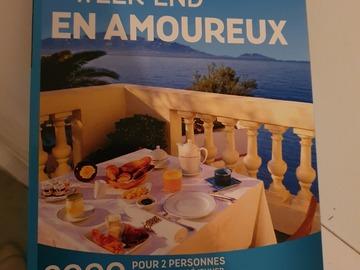 "Vente: Coffret Wonderbox ""Week-end en amoureux"" (59,90€)"