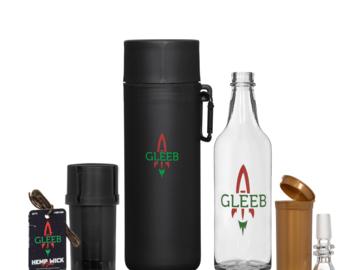 Post Now: Gleeb Glass Gravity Bong Kit
