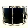 Selling with online payment: 14x9 Stave maple snare, stained black matte, 8 die cast lugs