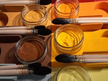 Workshop Angebot (Termine): Malen bei Dir zu Hause...mobiles Malatelier