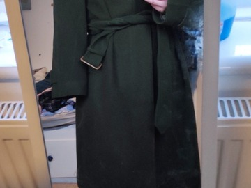 Selling with online payment: Gieves Hawkes Savile Row Belted Overcoat XL