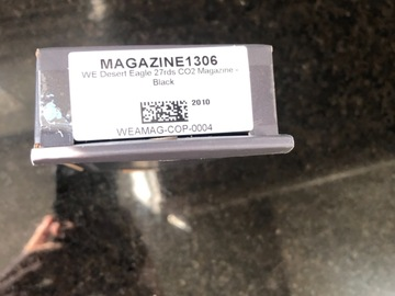 Selling: WE tech co2 magazines for magnum research cybergun desert eagle