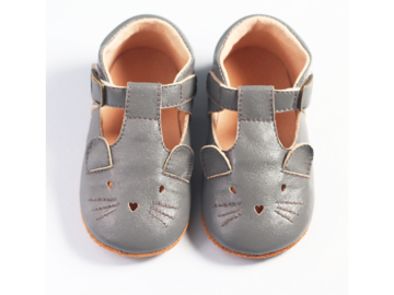 : Baby / Toddler Genuine Leather T strap shoes