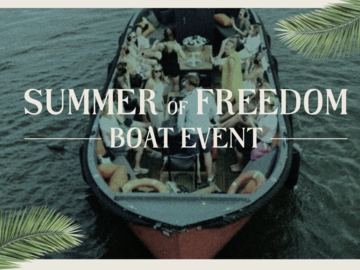 Alquile per persona: Summer of Freedom Boat Event  28/08/2021