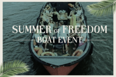 Rent per person: Summer of Freedom Boat Event  28/08/2021