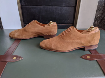 Selling with online payment: Caulaincourt Unlined Oxfords