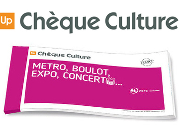 Vente: Chèques Culture Up (500€)