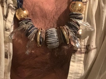 For Sale: Tribal Necklace: Mr. Chunk-a-munk