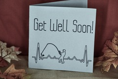Selling with online payment: Get Well Card - Fisherman