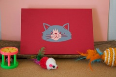 Selling with online payment: Pop-Up Card for Cat Lovers