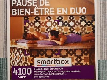 """Vente: Coffret Smartbox """"Pause de bien-être en duo"""" (49,90€)"""