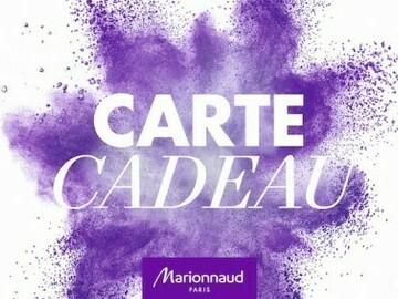 Vente: Carte cadeau Marionnaud (50€)