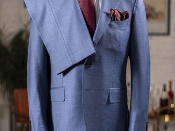 Selling with online payment: Suit SUITSUPPLY hartford – Pure 150's wool – Surgeon cuffs - M