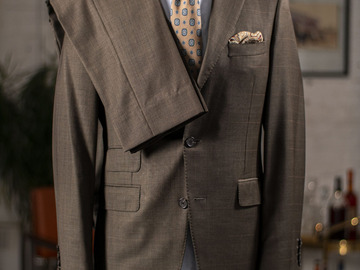 Selling with online payment: Suit SAMUELSOHN – Pure wool – 3 Buttons – M