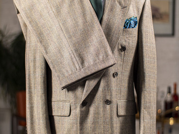 Selling with online payment: SAMUELSOHN – Wool and Cashmere – Double breayed 6/1 - L