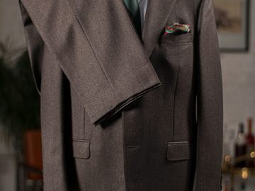 Selling with online payment: SAMUELSOHN Made-to-Measure – Wool and Cashmere  – L