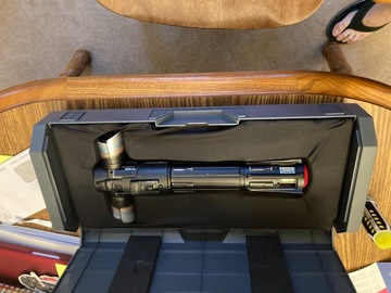 Selling with online payment: Kylo ren legacy saber