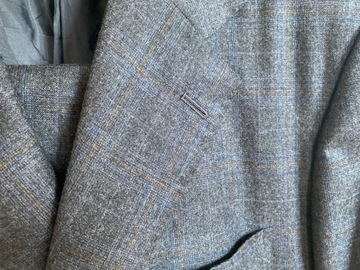 Selling with online payment: Kiton Check Flannel Suit 40/50R