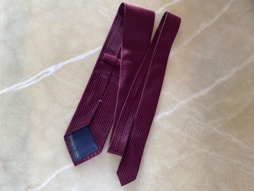 Selling with online payment: Zegna Dotted Silk Tie