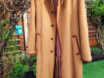 Selling with online payment: 100% Loro Piana Vicuna Coat by Harrods UK44 XL