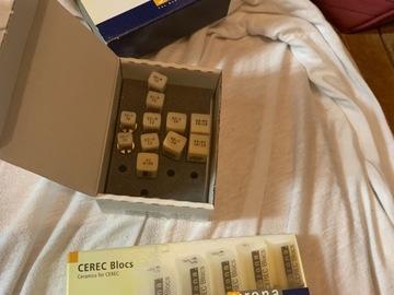 Nieuwe apparatuur: Cerec Sirona blocs
