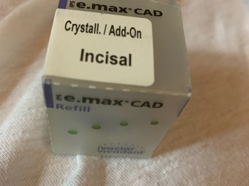 Nieuwe apparatuur: Crystall add-on Cerec