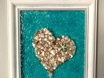 Selling with online payment: Beached Themed Resin Art