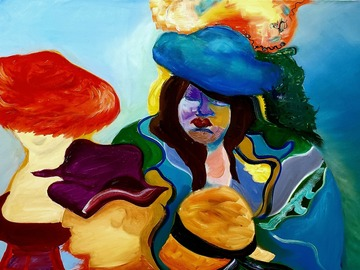 Sell Artworks: My Blue Hat