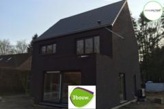 .: Moderne open bebouwing in houtskeletbouw   door 3bouw