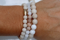 Selling with online payment:  Diffuser Bracelet Sets ~ 3 paired bracelets