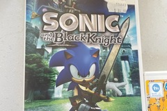 For Rent: Wii  Game Sonic and the Black Knight