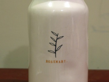 For Sale: Rosemary Ceramic Jar