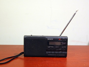 For Sale: 90s Sony Portable Radio