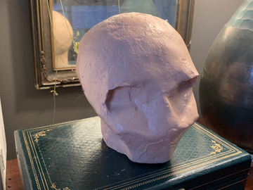 For Sale: Paper Mache Skull