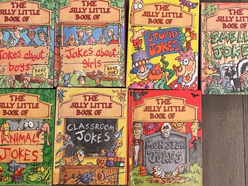 Selling with online payment: The Silly Little Book Of Jokes ( set of 7 books)