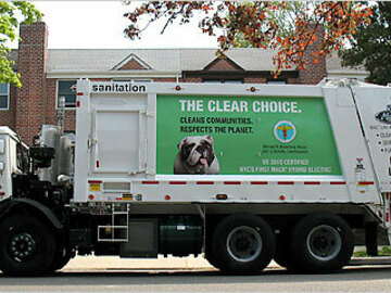 Drivers: I'll drive your sanitation/trash/recycling truck.