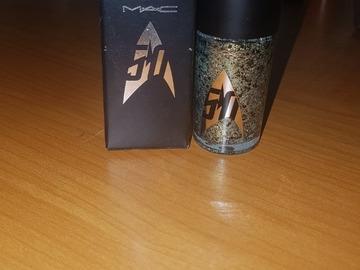 Venta: Esmalte de uñas MAC. Colección Star Trek