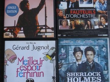 Vente: Lot de 4 DVD divers