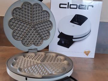 Vermieten mit Online-Zahlungen: Waffeleisen von Cloer