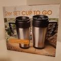 Verkaufen mit Online Zahlung: Cup to go trinkbecher 2er set