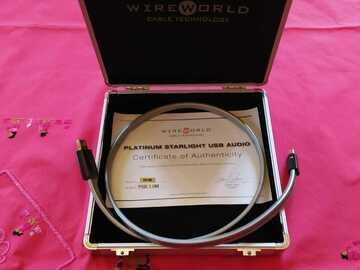 Vente: Câble USB Wireworld Platinum Starlight 6 en 1 mètre