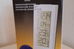 Verkaufen mit Online Zahlung: Temperaturstation von Technoline ,neu