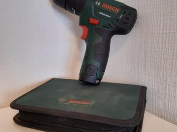 Vermieten mit Online-Zahlungen: Bosch Akku Schrauber PSB 10,8 LI-2