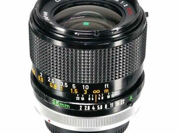 Vermieten: Canon FD 35mm f/2.0 SSC (inkl. FD-E Adapter)